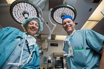 Surgical staff at BC Children's Hospital